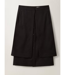 lemaire double skirt