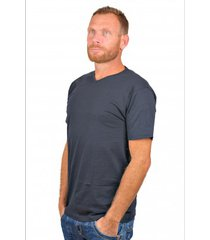 alan red t-shirt vermont blue