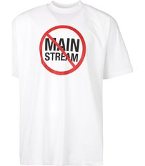 no mainstream logo t-shirt, white