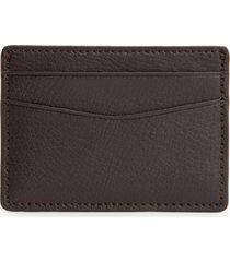 men's wolf blake card case - brown
