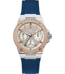 reloj azul mujer guess