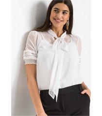 blouse met strik