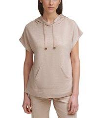 calvin klein dolman-sleeve hoodie