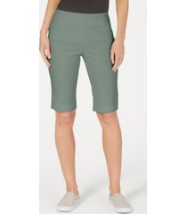 charter club pull-on bermuda shorts, created for macy's