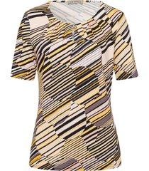 shirt ronde hals en korte mouwen van uta raasch multicolour