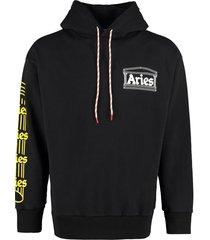 aries cotton hoodie