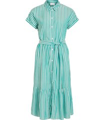 skjortklänning viharper s/s midi shirt dress
