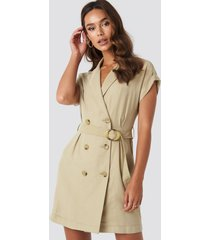 mango basel dress - beige