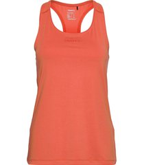 adv essence singlet w t-shirts & tops sleeveless orange craft