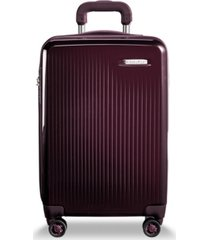"briggs & riley sympatico domestic 20"" hardside carry-on spinner"