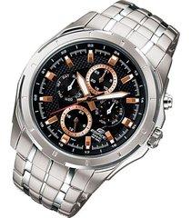 reloj casio ef_328d_1a5v plateado acero inoxidable