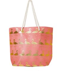 area stars women's flamingo tote bag