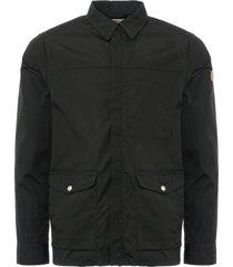 fjallraven black greenland zip shirt jacket f81873