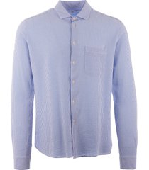 ymc curtis shirt - blue p2las