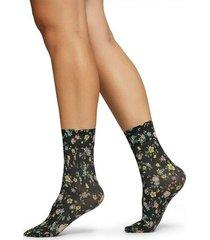 strumpor ada flower socks