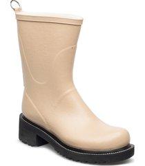 3/4 rubber boot gummistövel beige ilse jacobsen