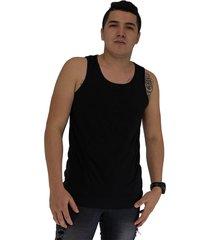 camisilla hombre color negro manpotsherd juan