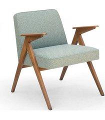 fotel prl 300-177, bunny chair. zielony