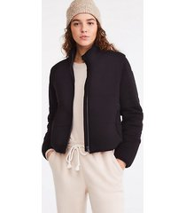 lou & grey signaturesoft plush puffer jacket