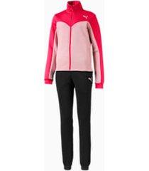 girls' track suit, roze, maat 116 | puma