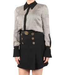 elisabetta franchi moves women's blouse zwart