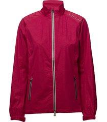 rain jacket outerwear sport jackets rood röhnisch