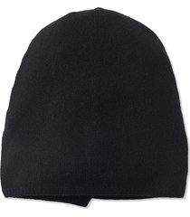 'ika' cashmere hat - black