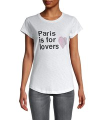 paris is for lovers graphic t-shirt
