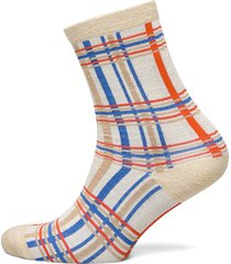 slfvida sock b lingerie socks regular socks creme selected femme
