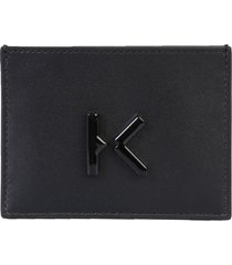 kenzo card holder with logo