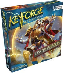 asmodee editions key forge- age of ascension two-player starter collectable deck game