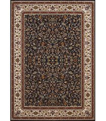 "asbury looms antiquities isphahan 1900 01464 912 navy 7'10"" x 10'6"" area rug"
