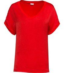 maglia bitessuto (rosso) - bodyflirt