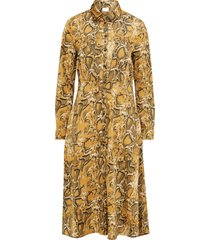 skjortklänning vimolga l/s midi dress