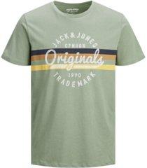 jack & jones men's brighten logo t-shirt