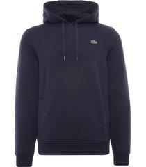 lacoste sport fleece hoodie | marine | sh1527-423