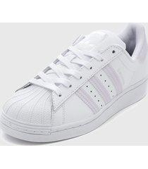 zapatilla superstar w blanco adidas originals