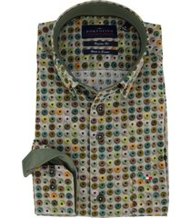 portofino overhemd print regular fit