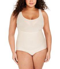 spanx women's plus size thinstincts bodysuit 10224r