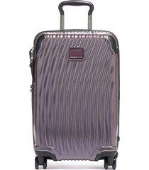 tumi international carry-on - purple