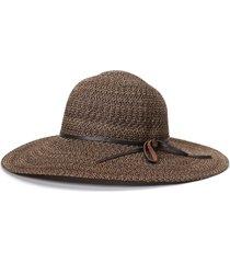 goorin bros. shalone wide brim floppy hat, size medium in whiskey at nordstrom