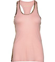 ander foil debardeur modal t-shirts & tops sleeveless rosa zadig & voltaire