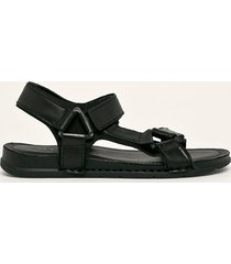 aldo - sandały skórzane uligolian