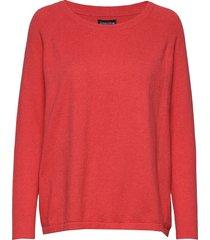 lea sweater gebreide trui rood lexington clothing