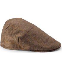 tweed balmoral cap
