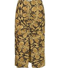jupe carry knälång kjol gul ba&sh