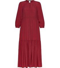 arena maxi dress galajurk rood weekend max mara
