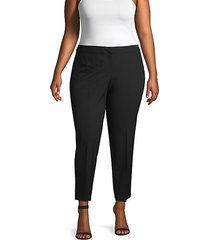 plus stretch ankle pants