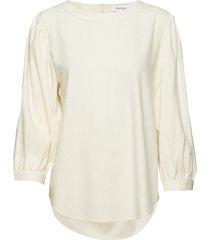 vanja blouse lange mouwen crème rodebjer