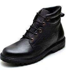 bota clube do sapato de franca coturno strong preto